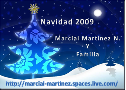 Tarjeta Navideña 2009 MMN